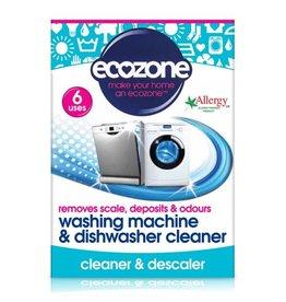 Ecozone Wasmachine en vaatwasser cleaner - 6 stuks x 20g - 120g