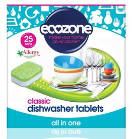 Ecozone Vaatwastabletten All in One - Classic - 25 tabletten