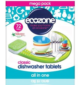 Ecozone Vaatwastabletten All in One - Classic - 72 tabletten