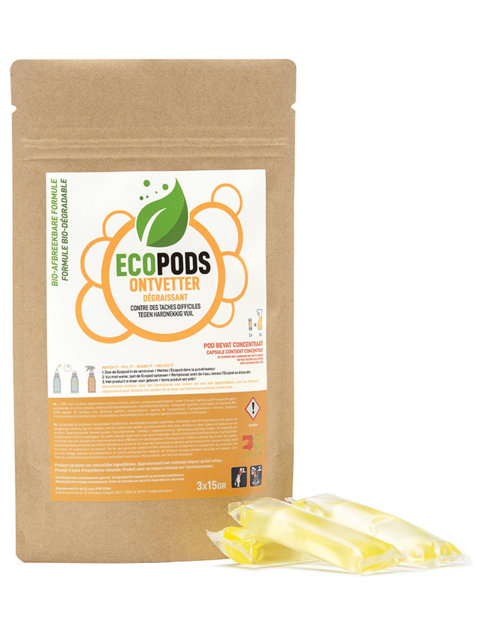 Ecopods Ecopods -  gele pods ontvetter 1 stuk
