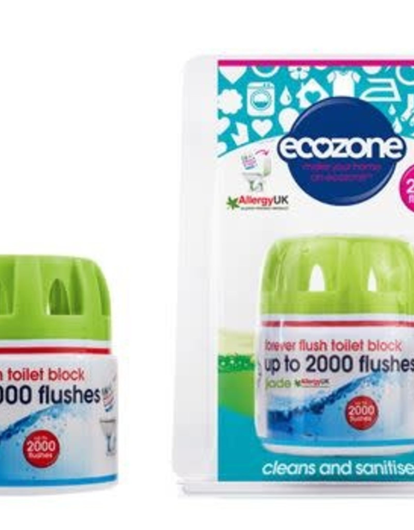 Ecozone Toiletverfrisser - blok Jade - Jade 95g