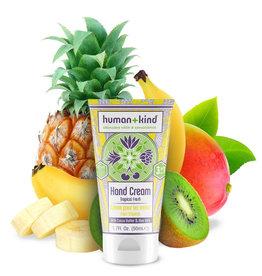 human+kind Vegan hand elbow foot cream tropical 50ml