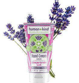 human+kind Vegan hand/elleboog/voetcreme lavender 50ml