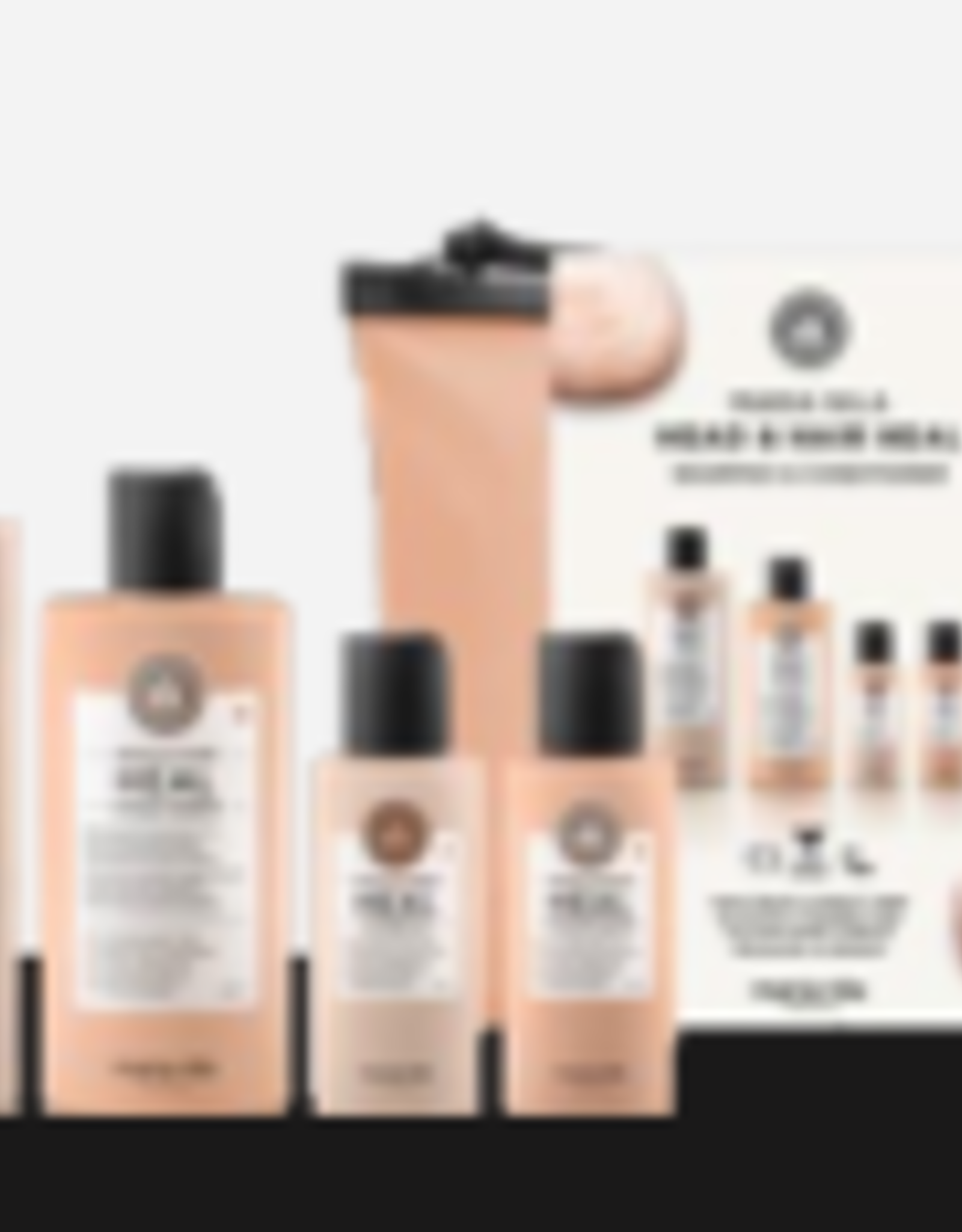 Maria Nila Beauty Bag Head & Hair Heal - Shampoo 350ml & Conditioner 300ml + travel size 2 x 100ml