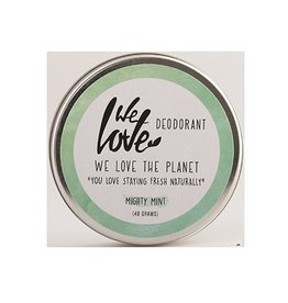 We love the planet The planet 100% natural deodorant mighty mint 48g