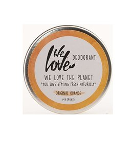 We love the planet The planet 100% natural deodorant original orange 48g