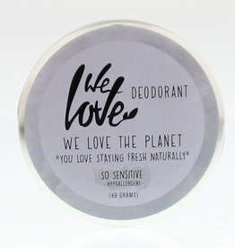 We love the planet The planet 100% natural deodorant so sensitive 48g