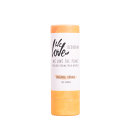 We love the planet The planet deodorant original orange stick 65g