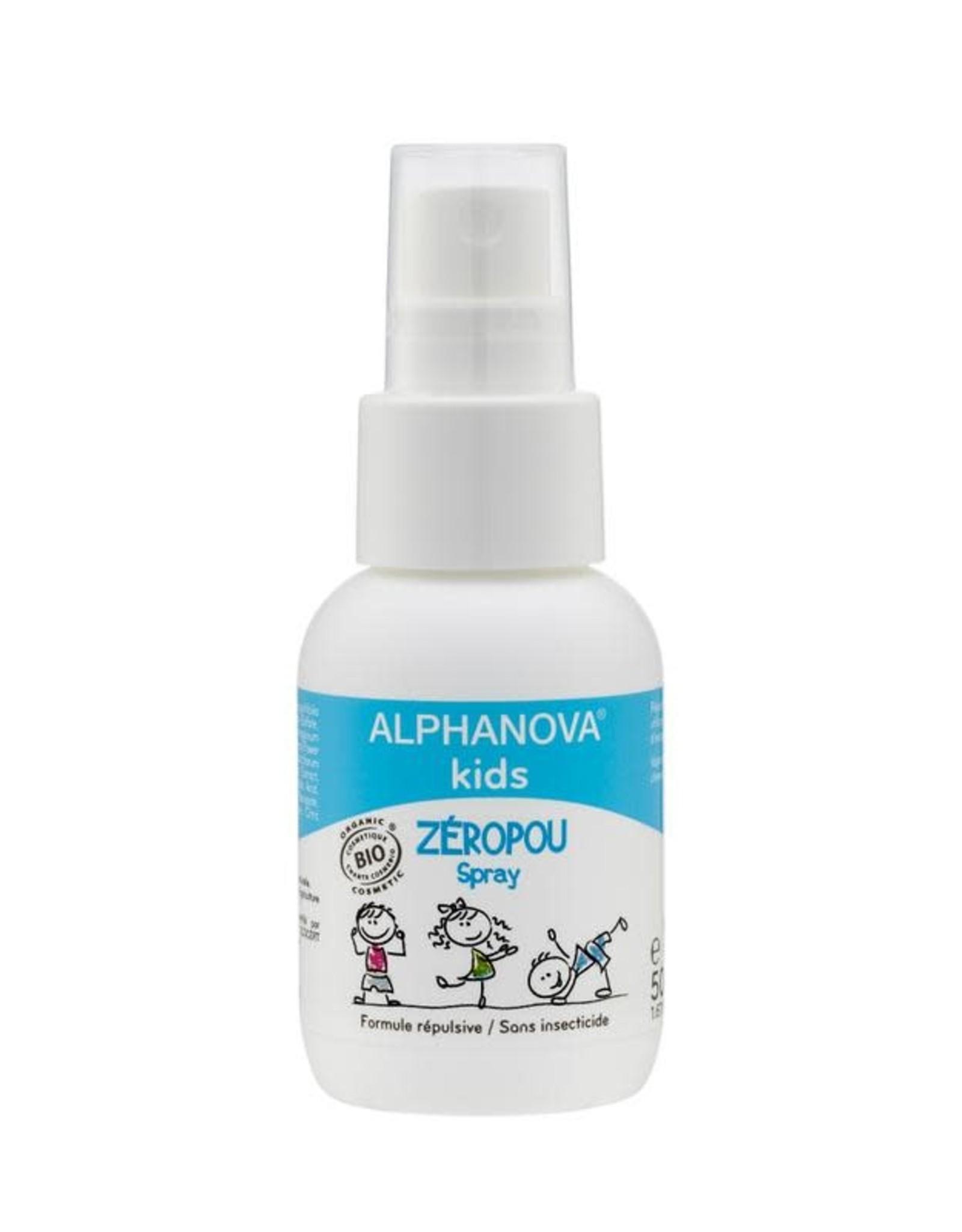 Alphanova Bio zéropou spray preventie hoofdluis