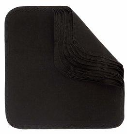 ImseVimse Washable wipes, Black, pack of 10p