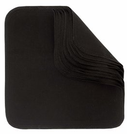 ImseVimse Washable wipes, Black, pack of 12p