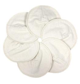 ImseVimse Nursing Pads, Stay Dry, White - 3 pairs