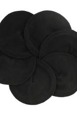 ImseVimse Nursing Pads Flannelette Black- 3p
