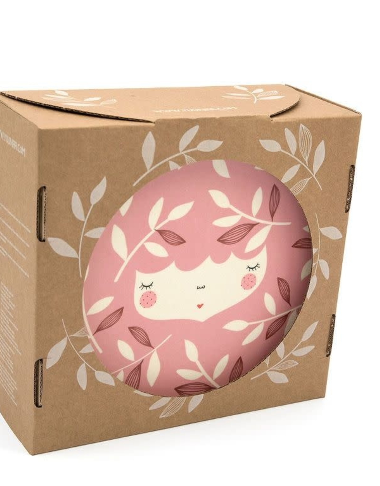 Yuunaa Bamboo Kids Set - Marinska Flower Face Pink - 3 pieces