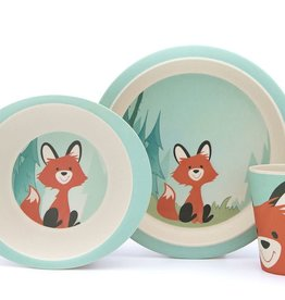 Yuunaa Bamboo Kids Set - Fox - 3 pieces