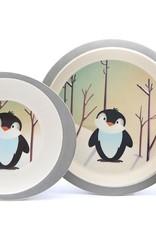 Yuunaa Bamboo Kids Set - Penguin - 3 pieces