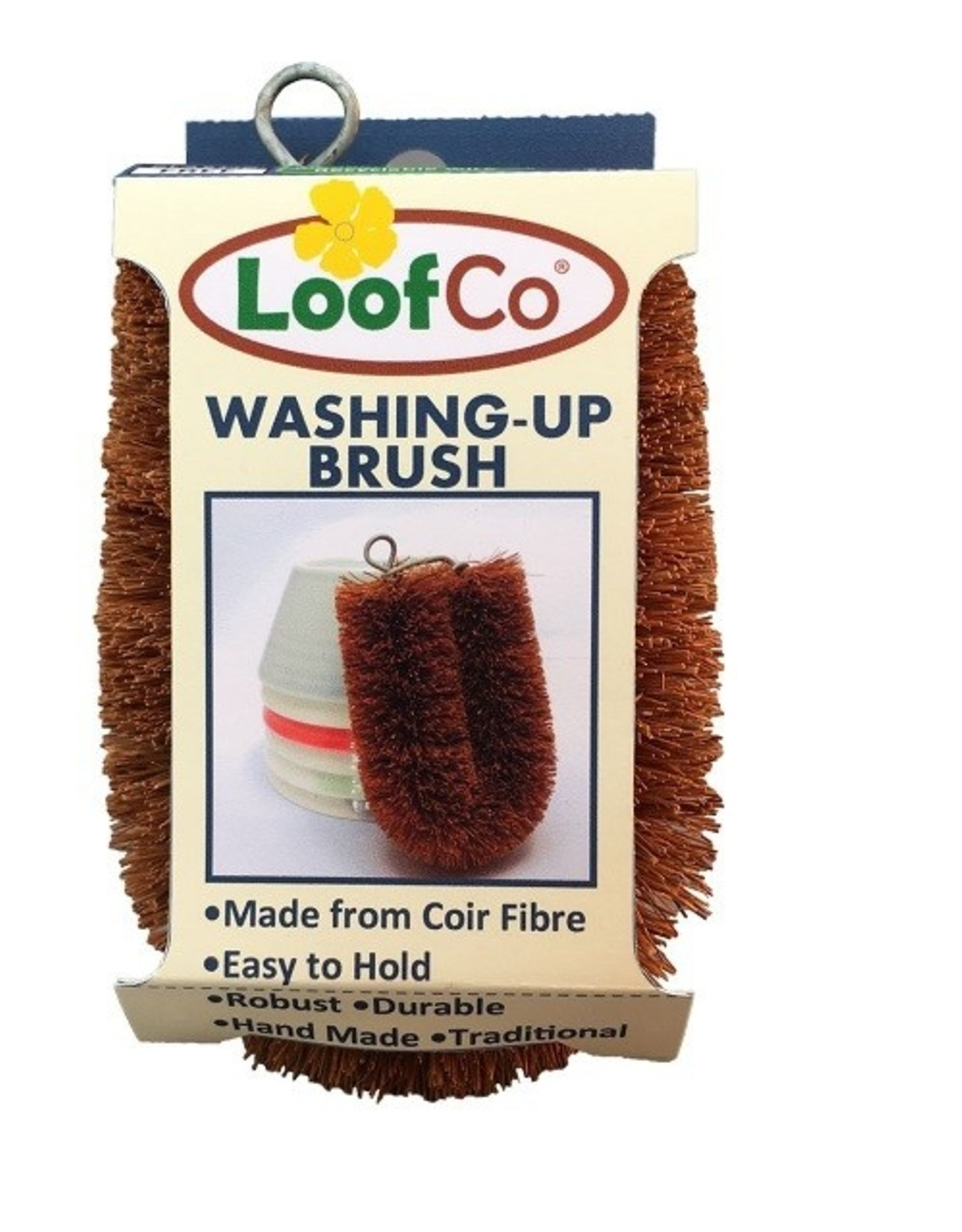 LoofCo Afwasborstel - Kokos