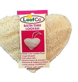 LoofCo Bad en douche spons hartvormig Loofco