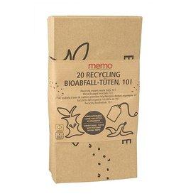 memo Composteerbare zakken Recycling Papier 20 stuks - 10L