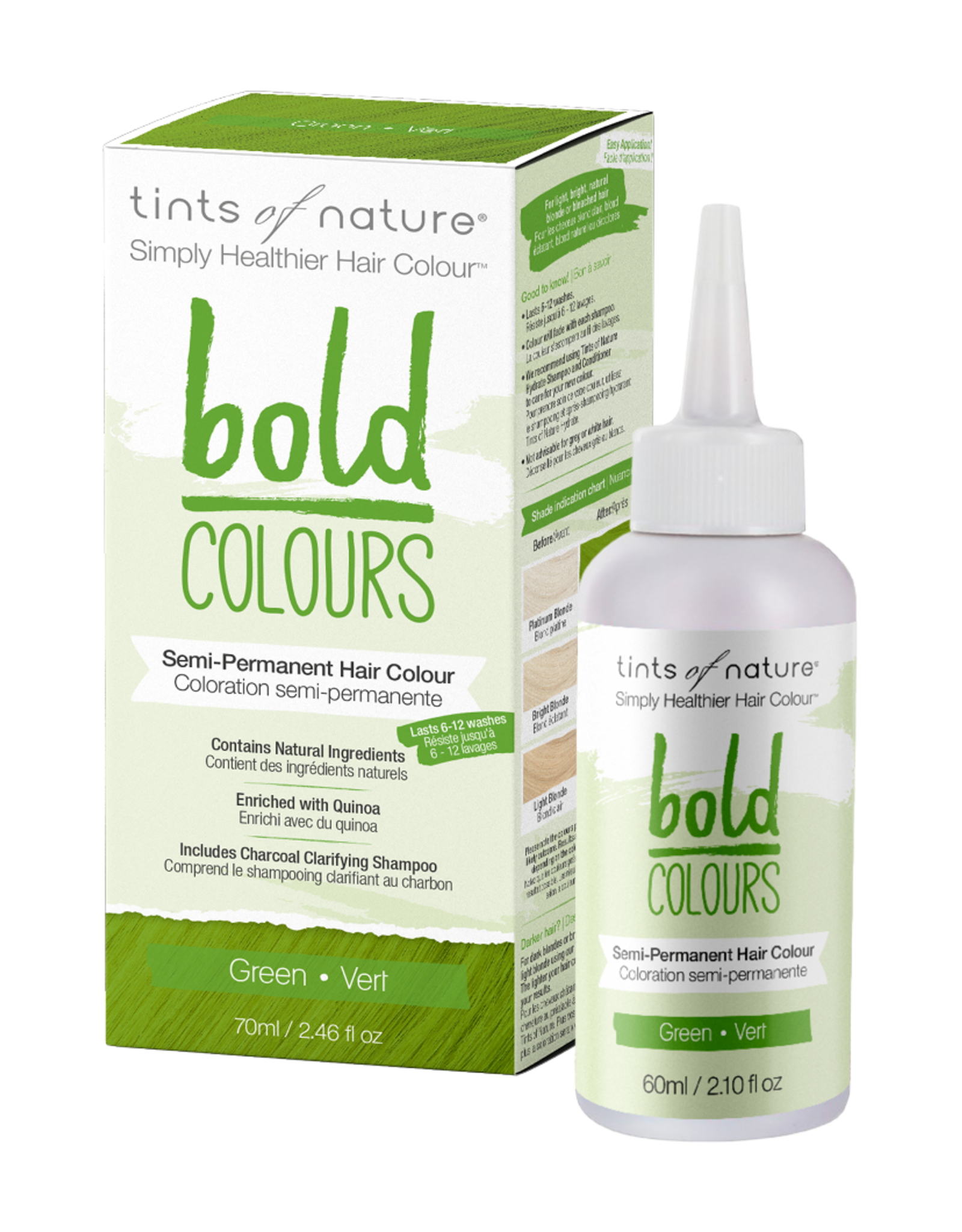 tints of nature Bold Colors - Green 70ml