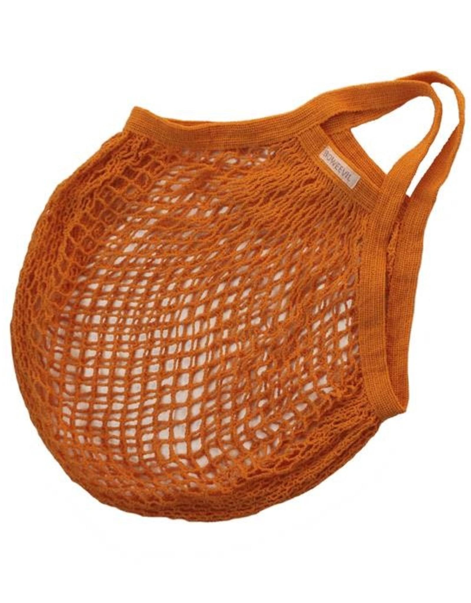 Boweevil Nettasje Natural Orange korte hengsels