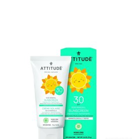 Attitude Little Ones - Zonnebrandcreme - SPF30 Fragrance free 75g