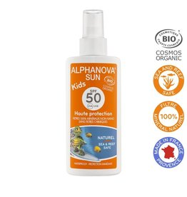 Alphanova Sun vegan spray SPF50 kids bio125g