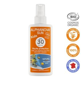 Alphanova Sun vegan spray SPF30 kids bio125g