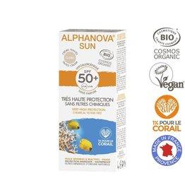Alphanova Sun getinte zonnebrand SPF50 tegen zonne-allergie - Claire - 50g