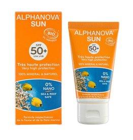 Alphanova Sun vegan gezichtscreme SPF50 bio 50g