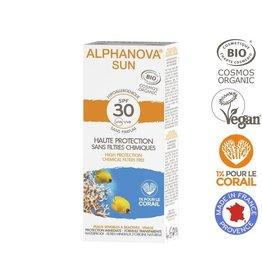 Alphanova Sun creme SPF30 bij zonne-allergie en waterproof 50g