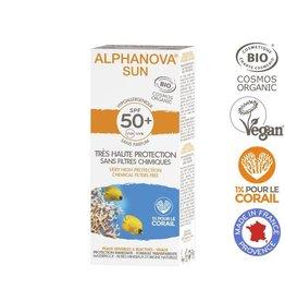 Alphanova Sun creme SPF50 bij zonne-allergie en waterproof 50g