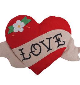 Bitten Knuffelig hart - valentijn - Valentijn Hart