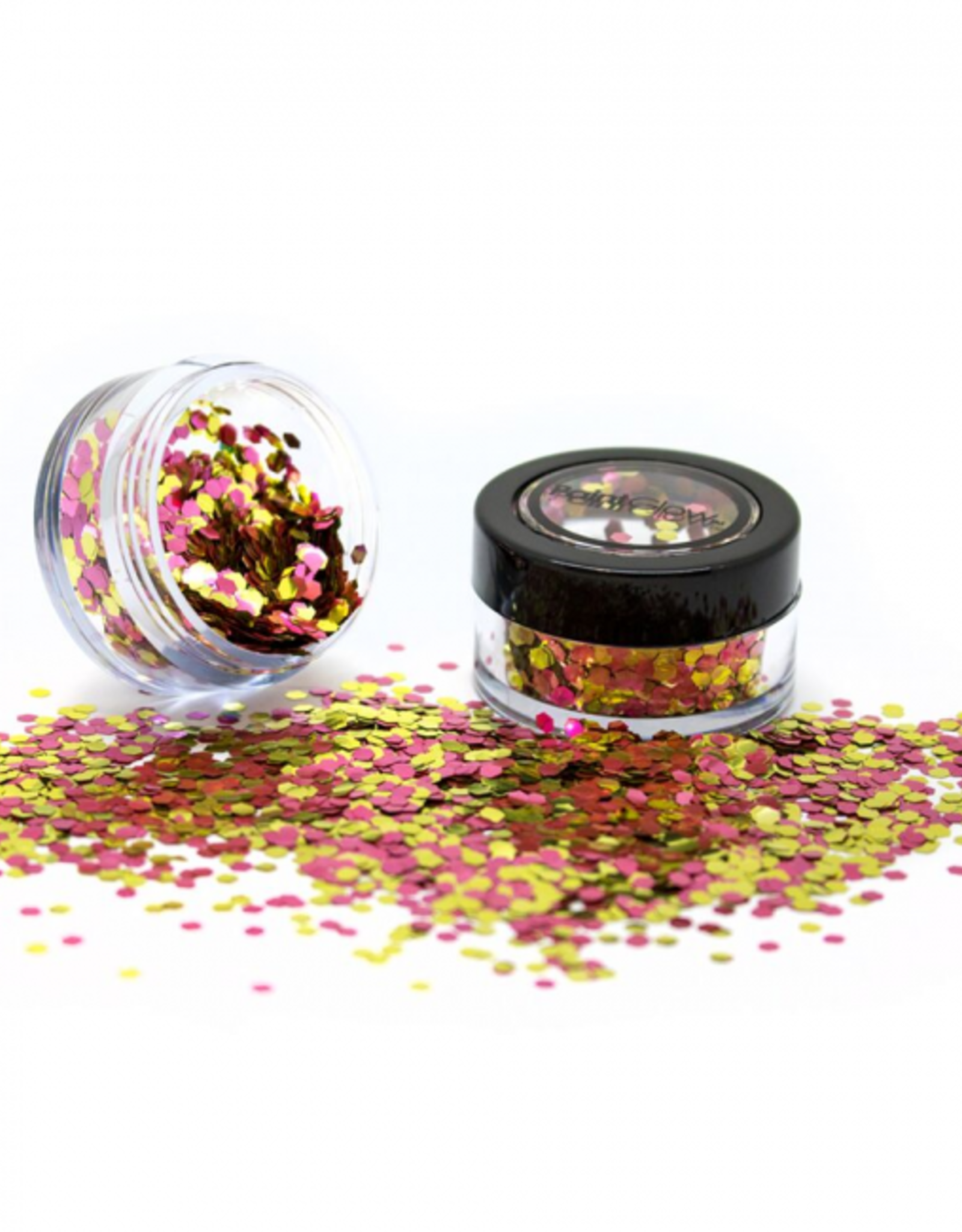 PartyXplosion Biologisch afbreekbare chunky glitters 3 gr. Rose Gold