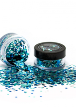 PartyXplosion Biologisch afbreekbare chunky glitters 3 gr. Ice Queen