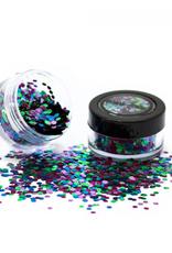 PartyXplosion Biologisch afbreekbare chunky glitters 3 gr. Wild Parrot