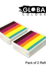 Global Global Colours - 2 PACK Summer Crush  2 x 10g