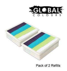 Global Global Colours - 2 PACK Taupo 2 x 10g