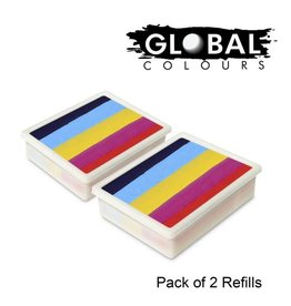 Global Global Colours - 2 PACK Leannes Rainbow REGULAR 2 x 10g