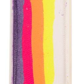 PartyXplosion Splitcake 43362 - Pearl purple - neon pink - neon orange - neon yellow - white 28g