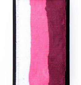 PartyXplosion Splitcake 43340 - Bordeaux red/ pink/white 28g