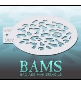 Bad Ass Stencils Bad Ass Mini Stencil - BAM1002