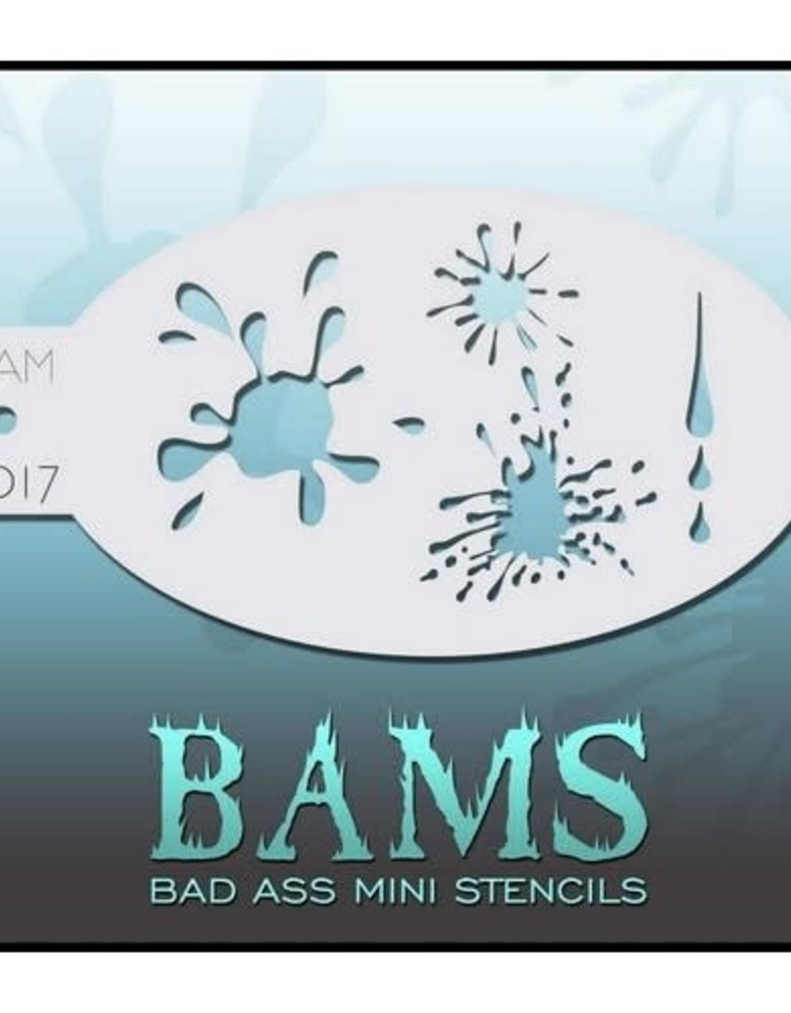 Bad Ass Stencils Bad Ass Mini Stencil - BAM1017