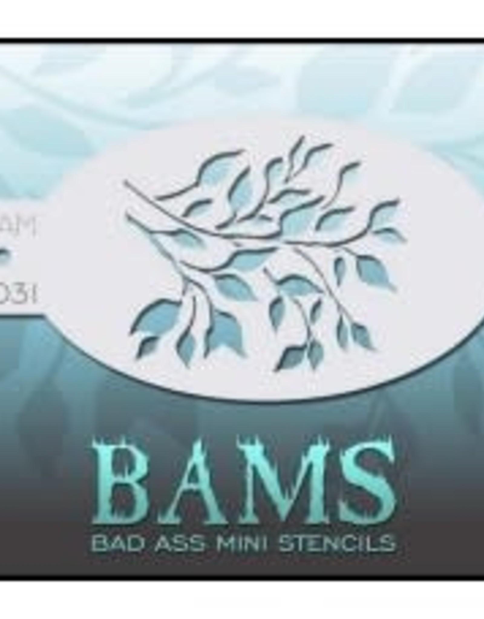 Bad Ass Stencils Bad Ass Mini Stencil - BAM1031