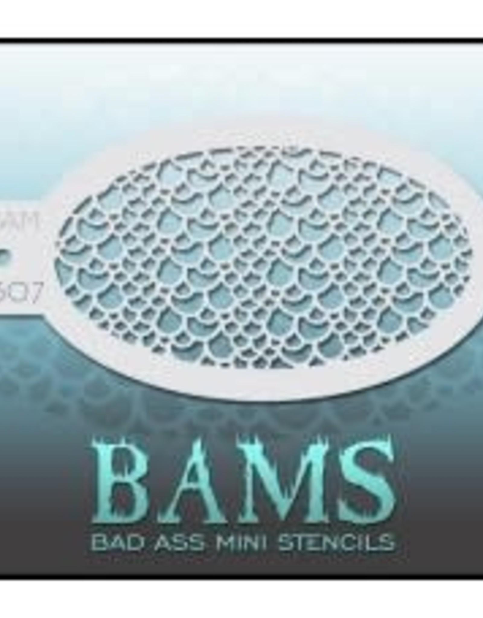Bad Ass Stencils Bad Ass Mini Stencil - BAM1307