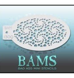 Bad Ass Stencils Bad Ass Mini Stencil - BAM1309