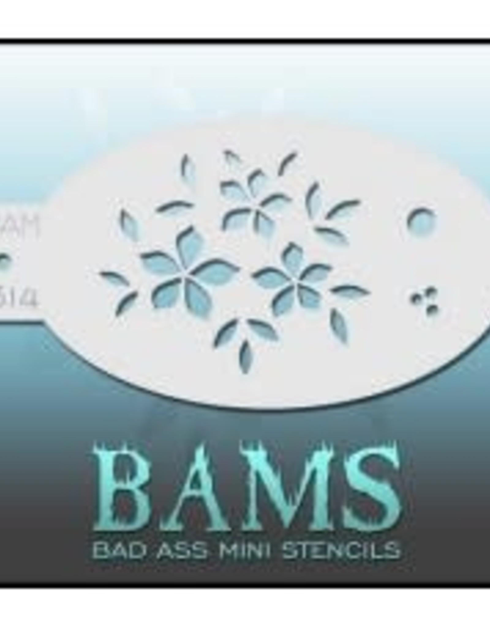 Bad Ass Stencils Bad Ass Mini Stencil - BAM1314