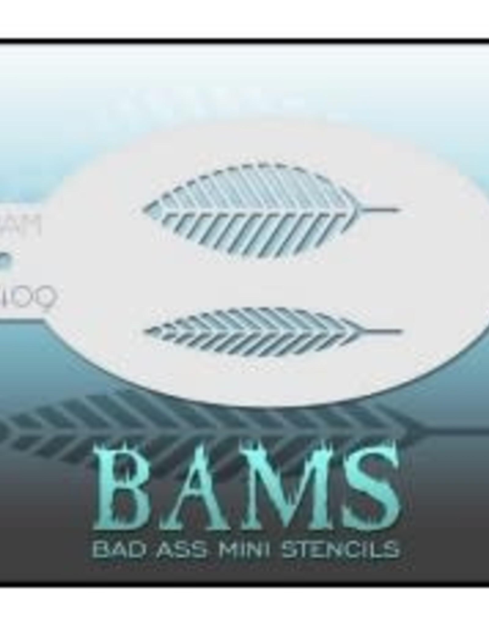 Bad Ass Stencils Bad Ass Mini Stencil - BAM1409