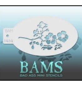 Bad Ass Stencils Bad Ass Mini Stencil - BAM1414