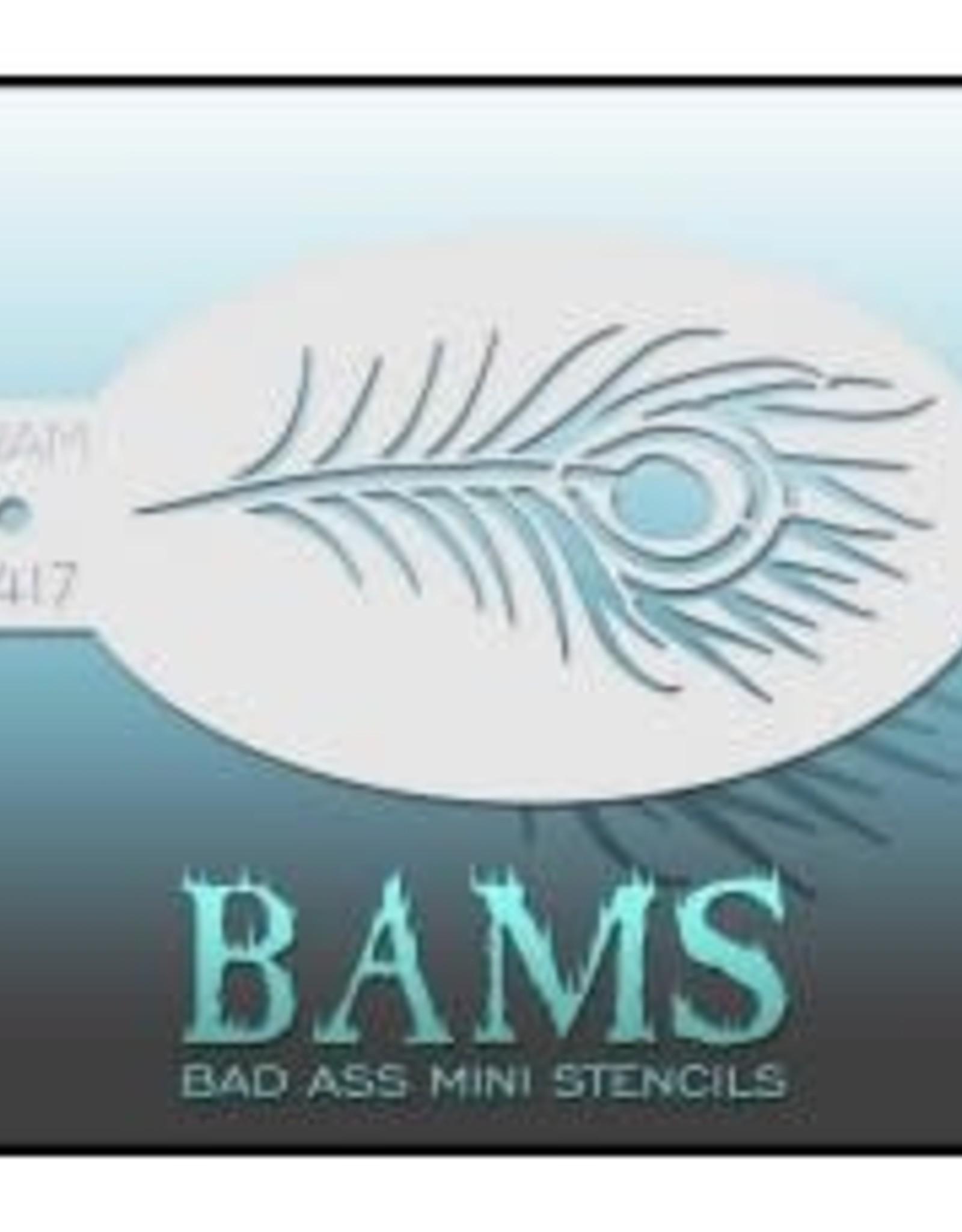 Bad Ass Stencils Bad Ass Mini Stencil - BAM1417
